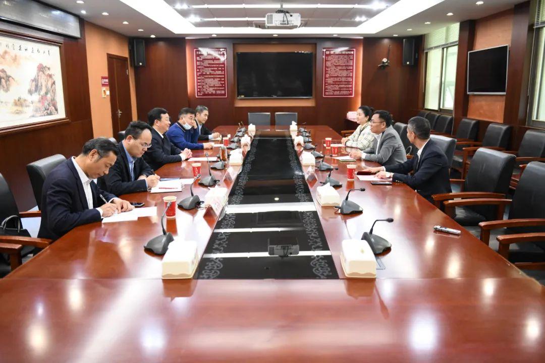 湖北省农业农村厅与八马茶业共商湖北茶产业发展战略